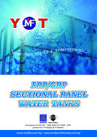 FRP SECTIONAL PANEL TANK
