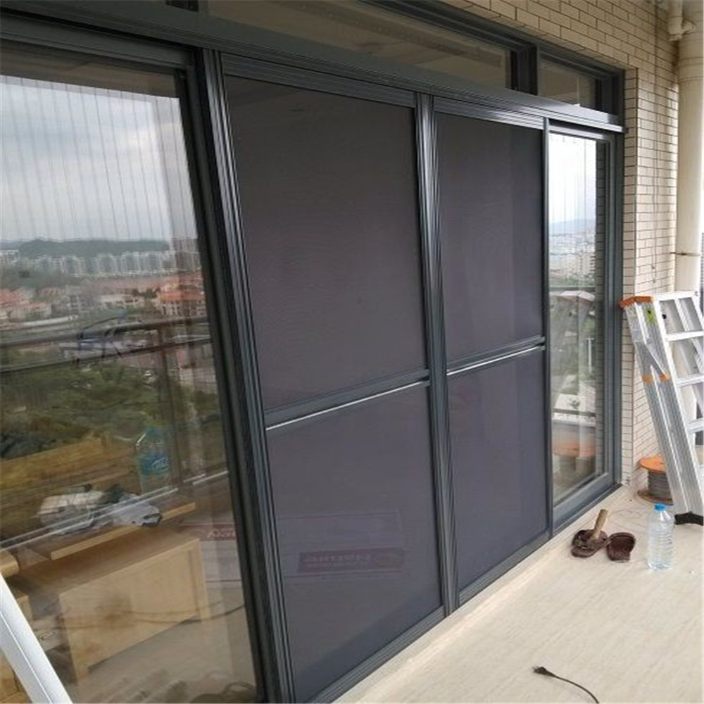 Magic security window screen door screen bullet proof for Screen door for sliding glass door