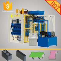 QT12-15 german concrete block making machine