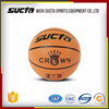 Hot sale customize your own basketball made in PU leather ST1308series