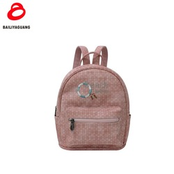 2018 wholesale latest beach word pu leather college backpacks for student high quality camera lady backpack