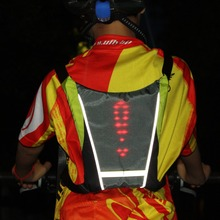 New style LED safety vest, cycling lighting traffic safety vest