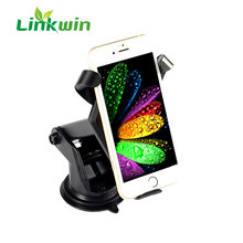 High Charging Speed Qc 2.0 Car 5v 2a 10w Micro Usb Charger QI Wireless Mount Charger for Smartphone