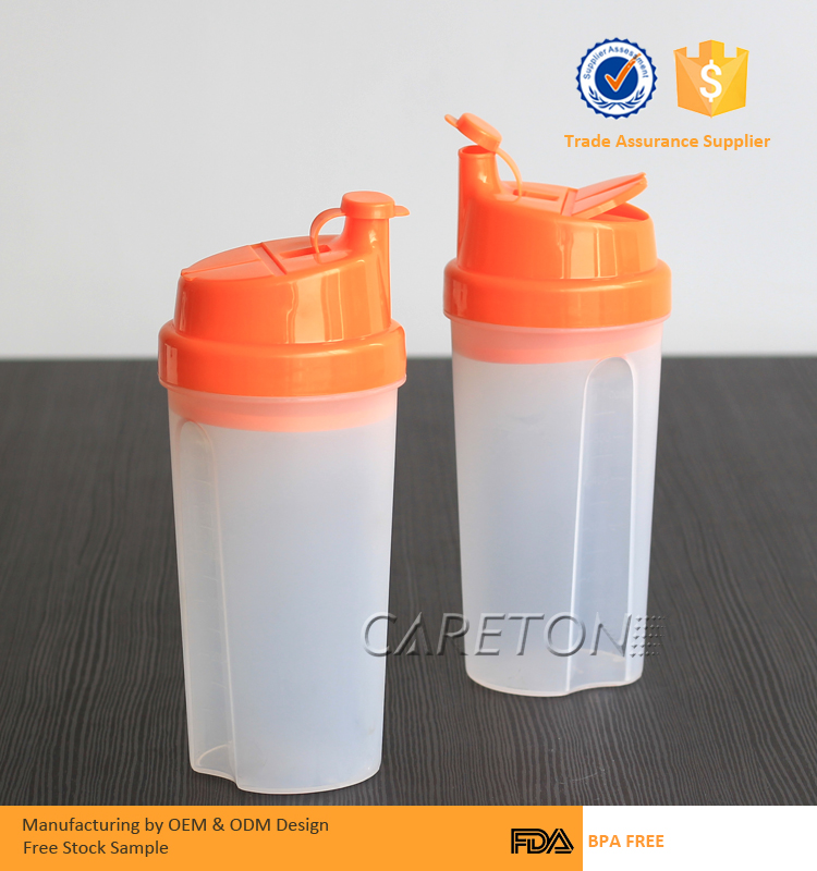 Pill Compartment Storage Airtight Protein Shaker Bottle