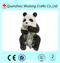 custom resin cute panda action figure for sale