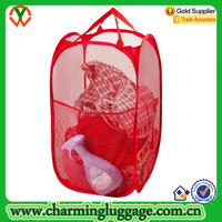Folding Mesh Fabric Pop up Laundry Bag