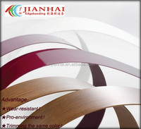 good PVC edge banding for kitchen cabinet or office table