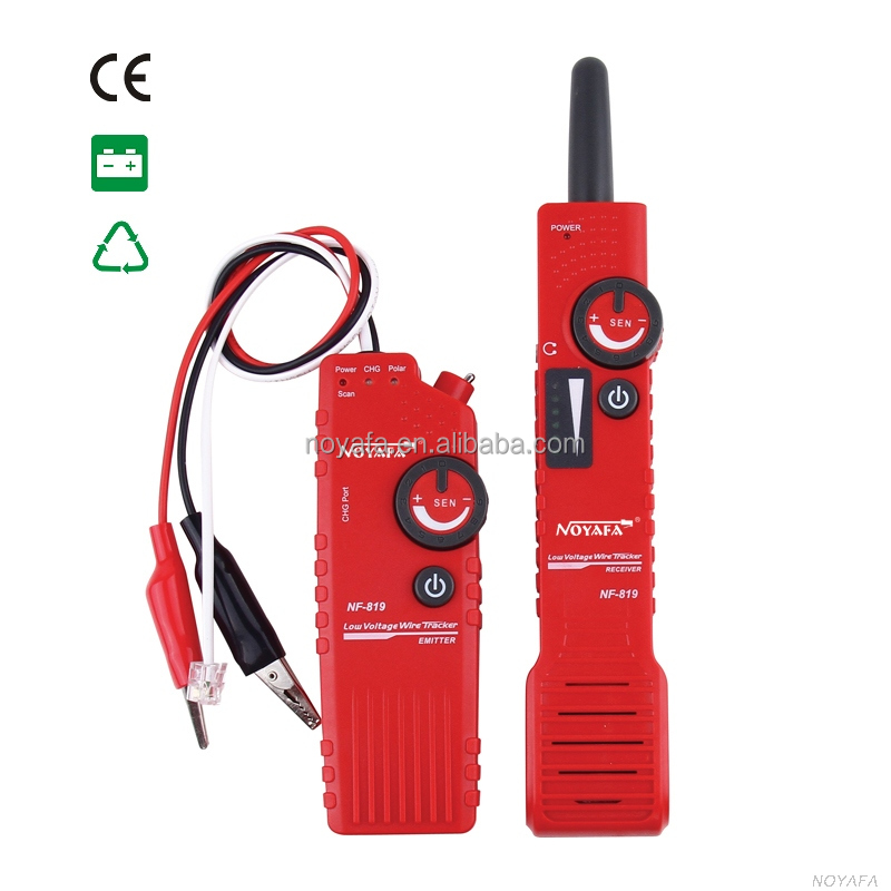 Noyafa New item ! low voltage Wire locator telephone wire detector NF-819