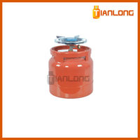 compressed home used lpg cylinder
