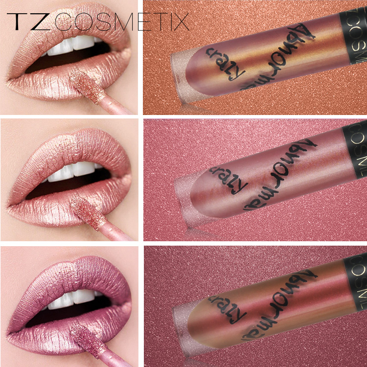 Your logo lipgloss TZ brand 3 series private label lipgloss