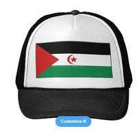 cotton baseball sport cap,customized sports cap hat,sports caps and hats with Western Sahara flag