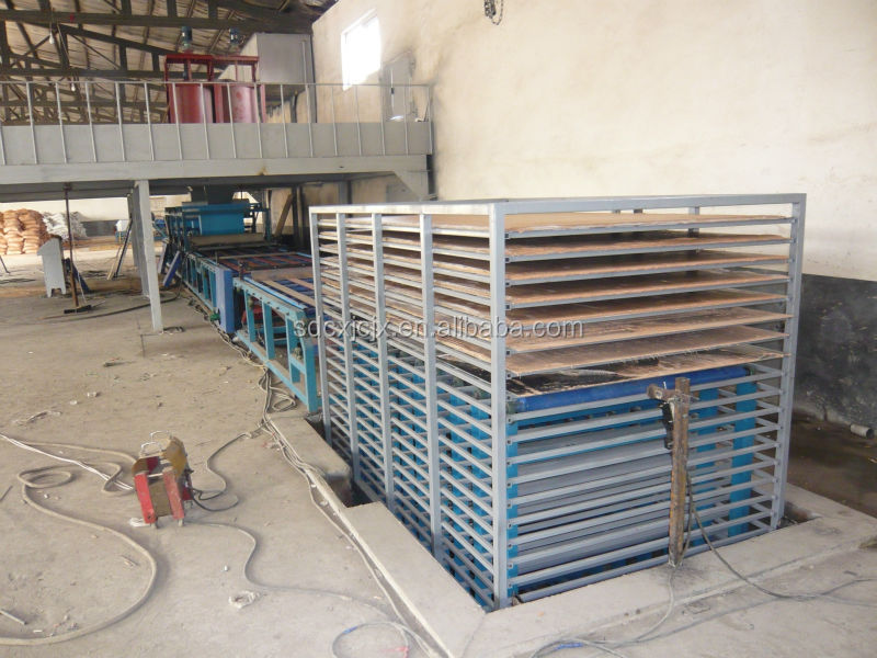 GRC Partition Board Equipment