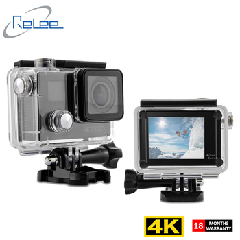 2018 Dual screen underwater wifi real hd 4K action camera be unique