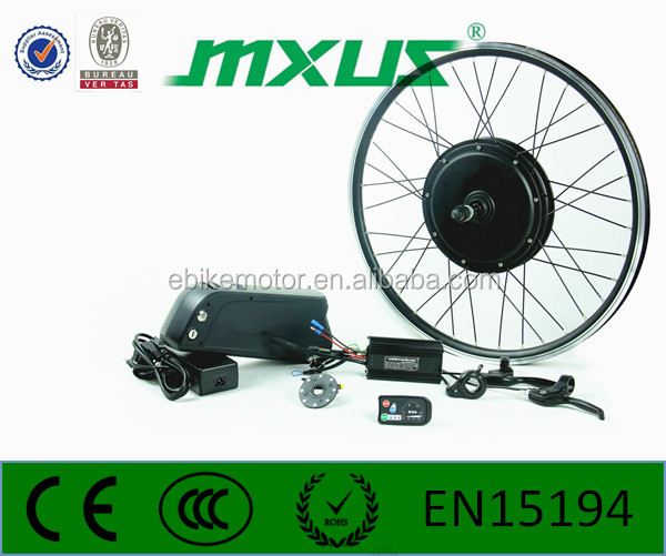 european style 48v 1000w e bike electric bicycle conversion kit with LCD display &amp disc brake For ac motor