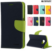 Original Goospery Mercury Fancy Diary Wallet leather case for Samsung Galaxy S8 Plus S8