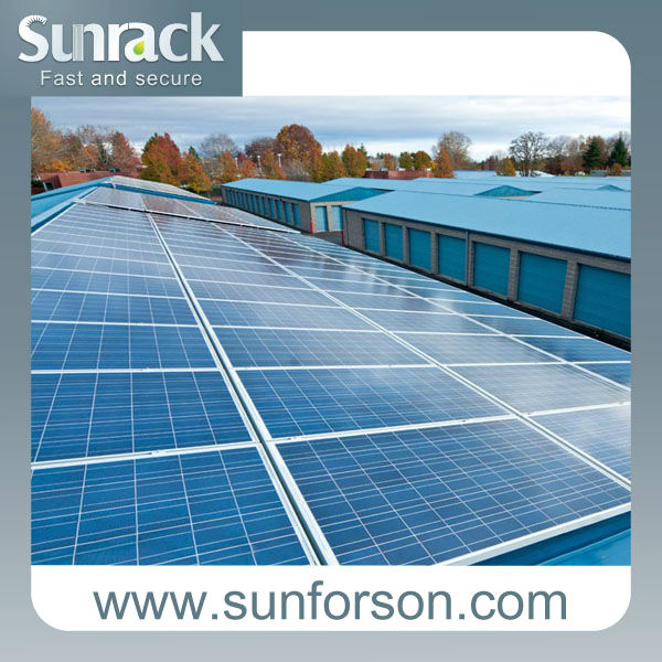 Sunforson pitch roof solar mounting structure/solar kit