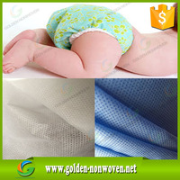 Baby Diaper sms non-woven fabric/nonwoven sms fabric shoe cover cloth, sms nonwoven fabric