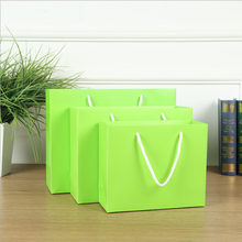 funny sugar Handbag green papercoardr bag small fresh cosmetic gift vegetable packaging bags of clothing spot