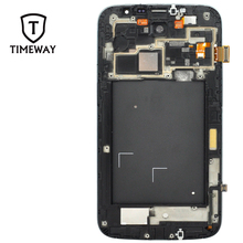Original Front Housing Bezel LCD Panel Frame Cover for samsung Galaxy Mega 6.3 I9200 Housing