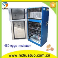 2013 Hot Selling Transparent door hatching eggs machine ostrich chicks for sale equipments for poultry farms 480 eggs YZ8