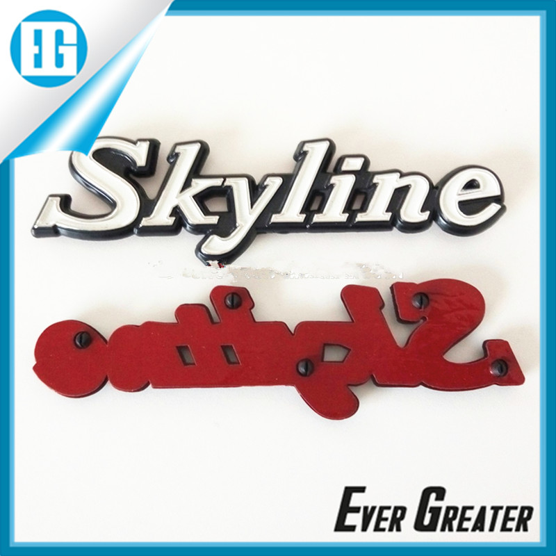Custom car logo metal badge with the best price