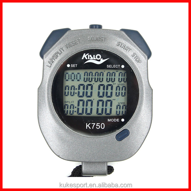 Factory direct 3 rows 50 memory 1/100 sec professional sport stopwatch good quality <strong>timer</strong> instrument Running <strong>timer</strong>