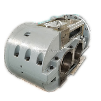 High quality cast iron gearbox housing for mining industry DIN standard GGG-50 CNC machining casting part