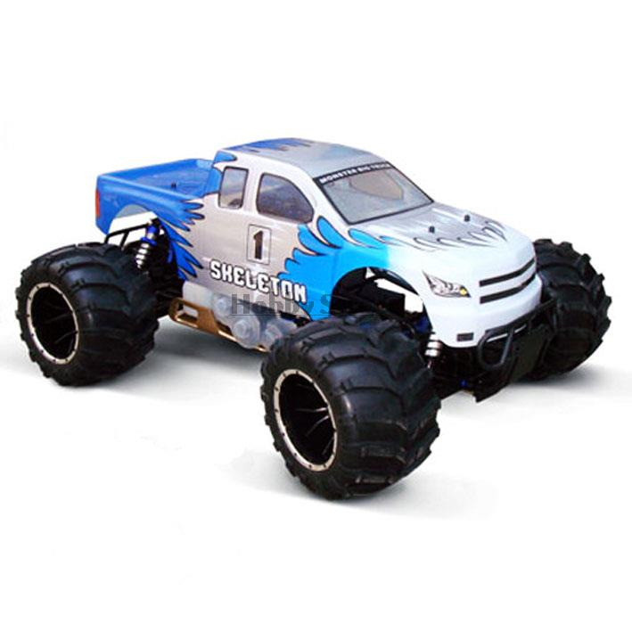 2017 new product 30cc 1 5 scale brushless 4x4 gasoline rc monster truck ERC50 for sale