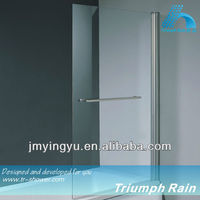 AOOC1504CL hot sale tempered glass over bath screen