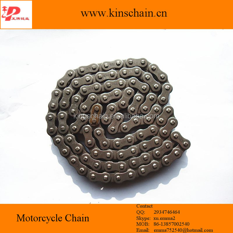 Motorcycle 40Mn high strength titanium motorcycle chain