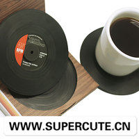 Vinyl Record Drink Coaster Small Gift items