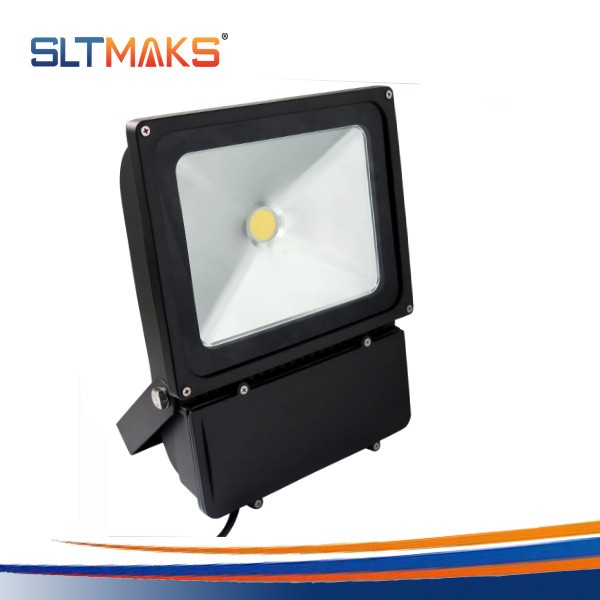 High brightness long lifespan 50000 hours CE/UL IP65 100 watt led flood light tech box