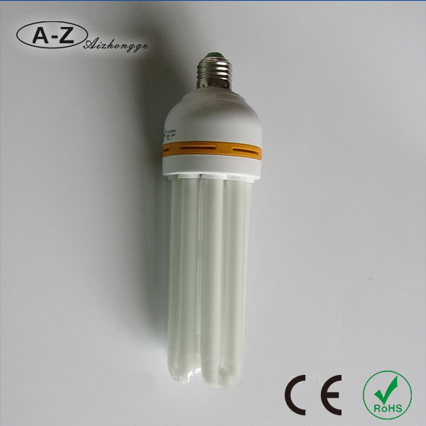 Promotional Warm White color 23w cfl 4u lamp in zhongshan