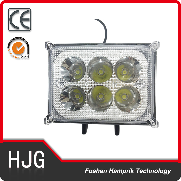 Factory Direct Wholesale 18W Motorcycle ATV JEEP SUV LED Working Light