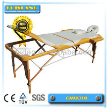 wood leg massage table for sale