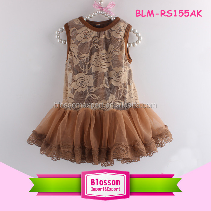 Sleeveless Rosette Fabric Chiffon Skirt Baby Tutu Dress Cream Toddler Girls Tutu Romper