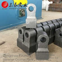 Customized stone limestone hammer crusher design price for mobile stone crusher