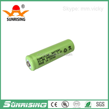 Sunrise battery 600ma aa rechargeable ni-mh battery 1.2v solar light battery