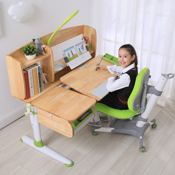 Adjustable Desk And Chair For Student Home learning