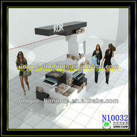 4*3m barber shop furniture in mall shopping