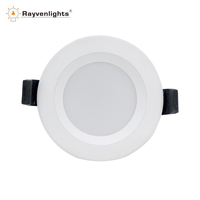 Factory Supply 15W Ultra Slim Frameless LED Round Recessed Panel Light SAA