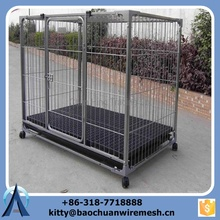 Powder coating heavy duty big dog kennel/Manufacturer dog kennels cages
