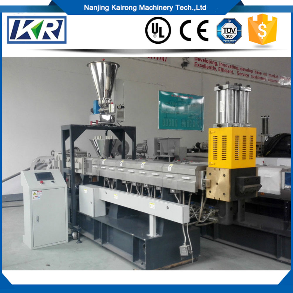 Plastic pvc pipe extruder machines making machine extrusion/PP/PE+starch/grain biodegradable masterbatch extruder price