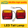 Most popular universal led trailer light tail light 100%waterproof factory price