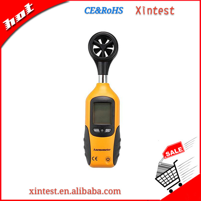 HT-9829 Smart sensor digital hot wire anemometer with telescoping probe