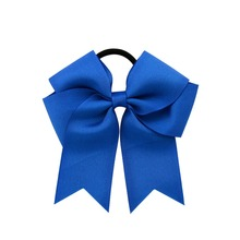 Grosgrain Ribbon Bow With Elastic Hair Band Hair Bow Ponytail Hair Holder For Girls Or Women