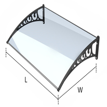 Sun Shade For Roof/balcony Sun Shade Awning/polycarbonate Sheet For Car Parking Shade