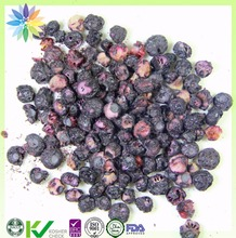 dehydrated fruit Freeze dried food blueberry