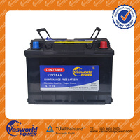 Super Start Lead Acid MF Battery Car 57512MF 12V75AH used car batteries for sale
