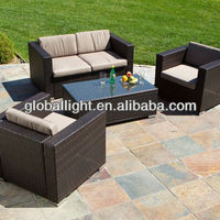 Outdoor Patio Furniture Brown All Weather